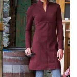 EUC Athleta burgundy Cassidy dress
